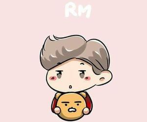 bts, rap monster, and rm image