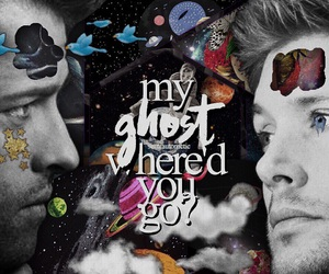 dean winchester, edit, and space image