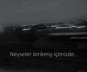 türkçe, alone, and yalnızlık image