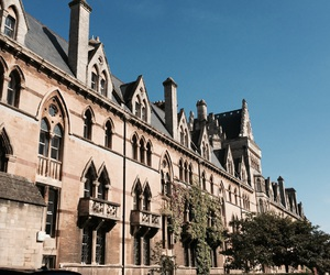 building, oxford, and christ church image