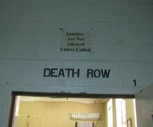 dark, jail, and row image