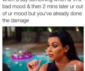 funny, kim kardashian, and meme image