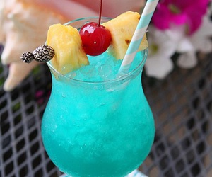 blue, exotic, and drinks image