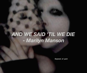 band, Marilyn Manson, and rock image