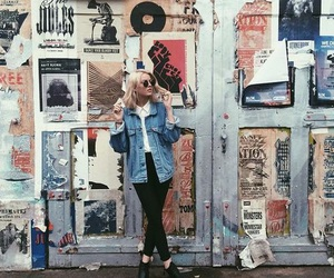 girl, grunge, and art image