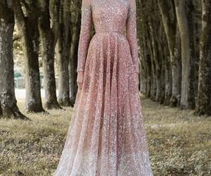 dress, pink, and paolo sebastian image
