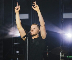 band, lead singer, and imagine dragons image