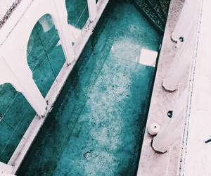 pool, blue, and turquoise image