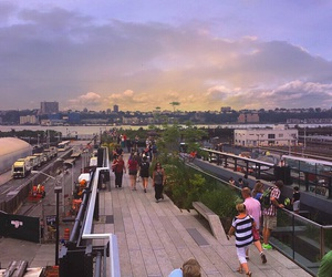 high line, manhattan, and new york city image