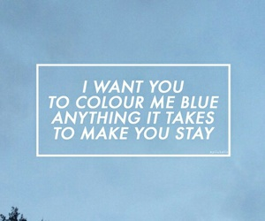 blue, music, and troye sivan image