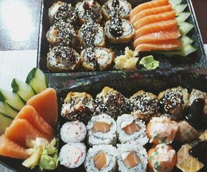 eat, food, and japonese image