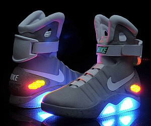 Back to the Future, running shoes, and science fiction image