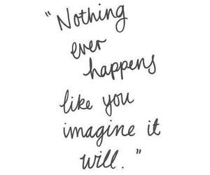 quotes, imagine, and nothing image