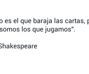 frases, william shakespeare, and español image