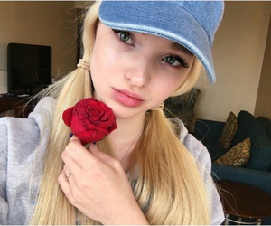 blonde, rose, and roses image
