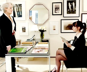 devil wears prada, Anne Hathaway, and Prada image