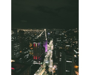 bogota, city, and lights image