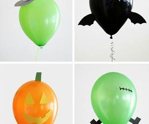 Halloween, balloons, and creativity image