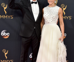 emmy, jerry seinfeld, and jessica seinfeld image