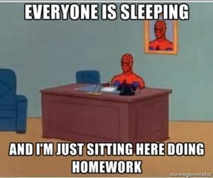 funny, help, and homework image