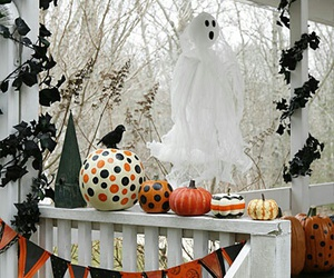 Halloween, autumn, and decorations image