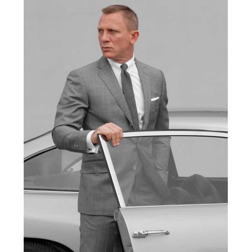 James Bond 007 Skyfall Gray Suit On We Heart It
