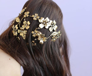accessories, glam, and hair image