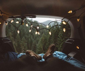 light, nature, and travel image