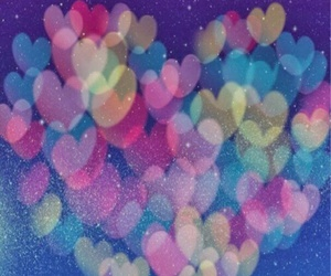 love, wallpaper, and hearts image