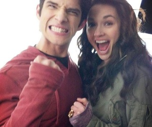 teen wolf, crystal reed, and tyler posey image