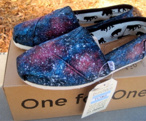 toms, shoes, and galaxy image