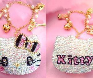 bracelet, hello kitty, and kawaii image