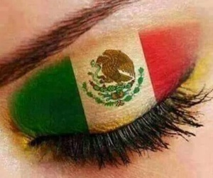 flag, make up, and maquillaje image