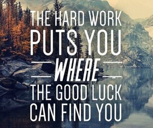 quotes, motivation, and luck image