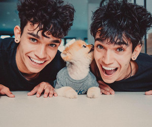 cute, lucas dobre, and cute lucas and marcus image
