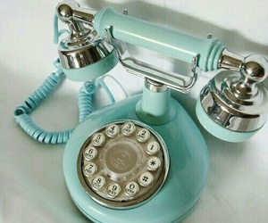 blue and oldphone image
