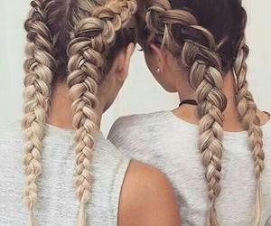 braids, girly, and tumblr image