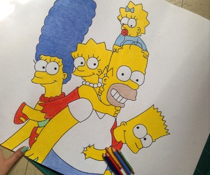 art, bart, and color image