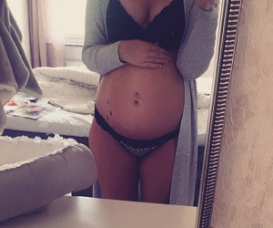 girl, pregnancy, and pregnant image