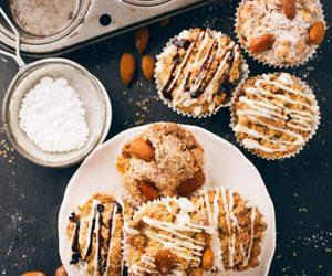 muffiny, babeczki, and owoce image
