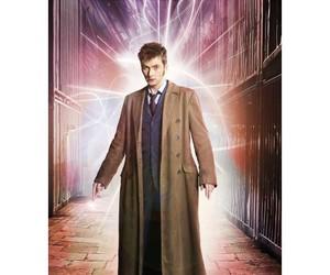david tennant, brown coat, and doctor who coat image
