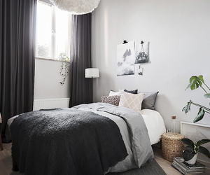 bedding, home, and minimalist image