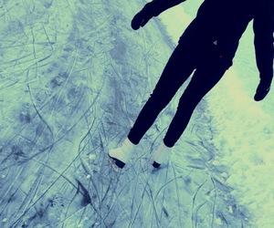 ice, ice skating, and lena image