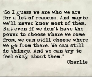 book, charlie, and the perks of being a wallflower image