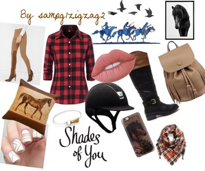 fashion, horse, and love image
