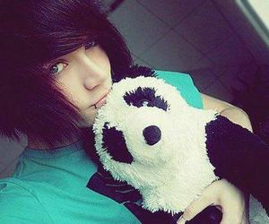cute, emo, and boy image