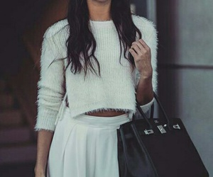 style, white, and winter image