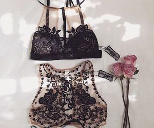 bra, sexy, and style image