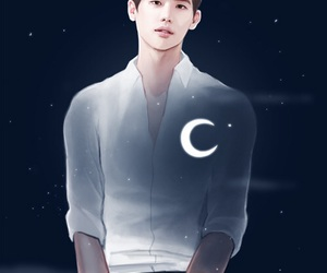 lee jong suk, w two worlds, and kang chul image