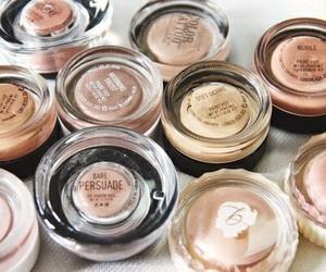 makeup, brown, and tumblr image